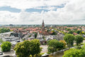 View of Leeuwarden and St.Dominicusker Church, Netherlands Royalty Free Stock Photo