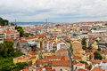View of lisbon central portugal Stock Images