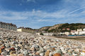 View of LLandudno from the Beach Royalty Free Stock Photo