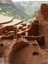 View from Long House, Mesa Verde, Colorado Royalty Free Stock Photo