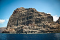 View of los gigantes cliffs tenerife spain canary islands Royalty Free Stock Photos