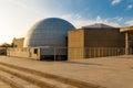 View of madrid planetarium main dome spain Stock Image