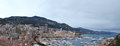 View main business centre monaco port hercules Stock Photography