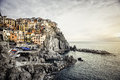 View of Manarola Stock Photo