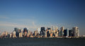 View of manhattan new york city usa Royalty Free Stock Images