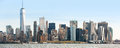 View of Manhattan skyline in NYC Royalty Free Stock Photo