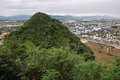 View from the marble mountains da nang vietnam Royalty Free Stock Image