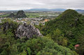 View from the marble mountains da nang vietnam Stock Images