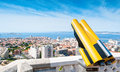View of Marseilles cityscape. Stock Photo