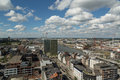 A view from the mas photograph of museum in antwerp belgium museum aan de stroom dutch for museum on stream is Royalty Free Stock Images