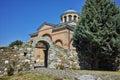 View of Medieval Monastery St. John the Baptist, Kardzhali,  Bulgaria Royalty Free Stock Photo