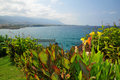 View of the Mediterranean Sea -  Cyprus Royalty Free Stock Photography