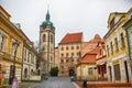 View of the Melnik town Royalty Free Stock Photo