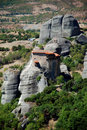View of Meteora Stock Photography