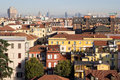 View of milan italy a over the roofs Stock Images