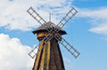 View of mill in summer Royalty Free Stock Photo