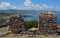 View from Molyvos Castle