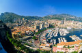 View of Monaco Monte Carlo Royalty Free Stock Images