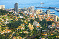 View of monte carlo monaco aerial Stock Photography