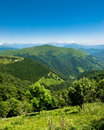 View from monte generoso Royalty Free Stock Images