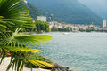 View of Montreux. Stock Photo