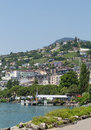 View on Montreux Swiss Royalty Free Stock Photo