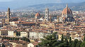 View at the monuments of Florence, Italy Royalty Free Stock Photography