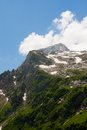 View of mount fischt north caucasus russia Stock Images