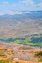 View from Mount Nebo in Jordan Stock Images