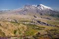 A view of mount saint helens Royalty Free Stock Photo