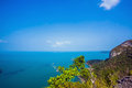 View from mountain on angthong marine national park thailand Stock Images