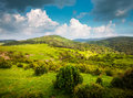 View of mountains landscape Royalty Free Stock Photo