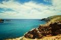View of Mykonos beach Royalty Free Stock Photo