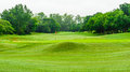 View nature landscape of beautyful golf course at Thailand : THE Royalty Free Stock Photo