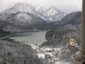 View from Neuschwanstein Castle Stock Image