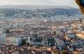 View Of Nice City With Lycee Massena