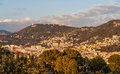 View of nice cote d azur france Stock Photo
