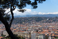 View of nice france overview Royalty Free Stock Photography