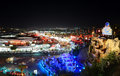 The view on night life in naama bay sharm el sheikh egypt december december sharm el sheikh egypt up to million tourists Stock Photo