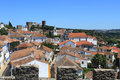 View of Obidos Stock Photos