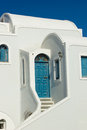View on Oia in Santorini Stock Photography