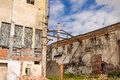 View old abandon paper mill kalety silesia province poland europe Royalty Free Stock Photo