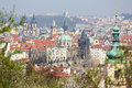 View on the old center of Prague Royalty Free Stock Photo