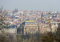 View on the old center of Prague, with the National Theatre Royalty Free Stock Photo