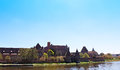 View on old german castle in malbork poland Royalty Free Stock Photography