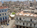 View on old Havana, Royalty Free Stock Photos