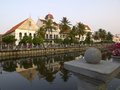 View of old jakarta kota tua Stock Photo