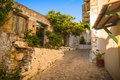 View of old town in Chania, Crete Royalty Free Stock Photo