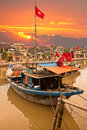 View on the old town of Hoi An. Vietnam Stock Image