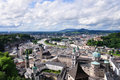 View on old town of Salzburg, Austria Stock Photo